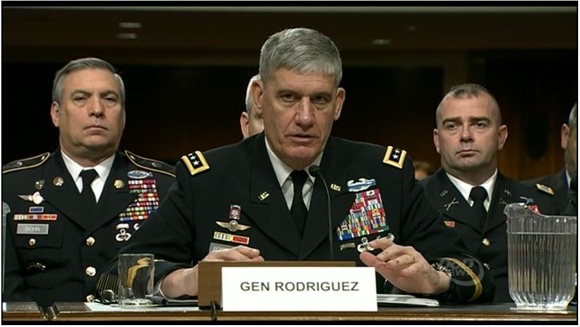 Gen. Rodriguez Delivers 2016 Posture Statement