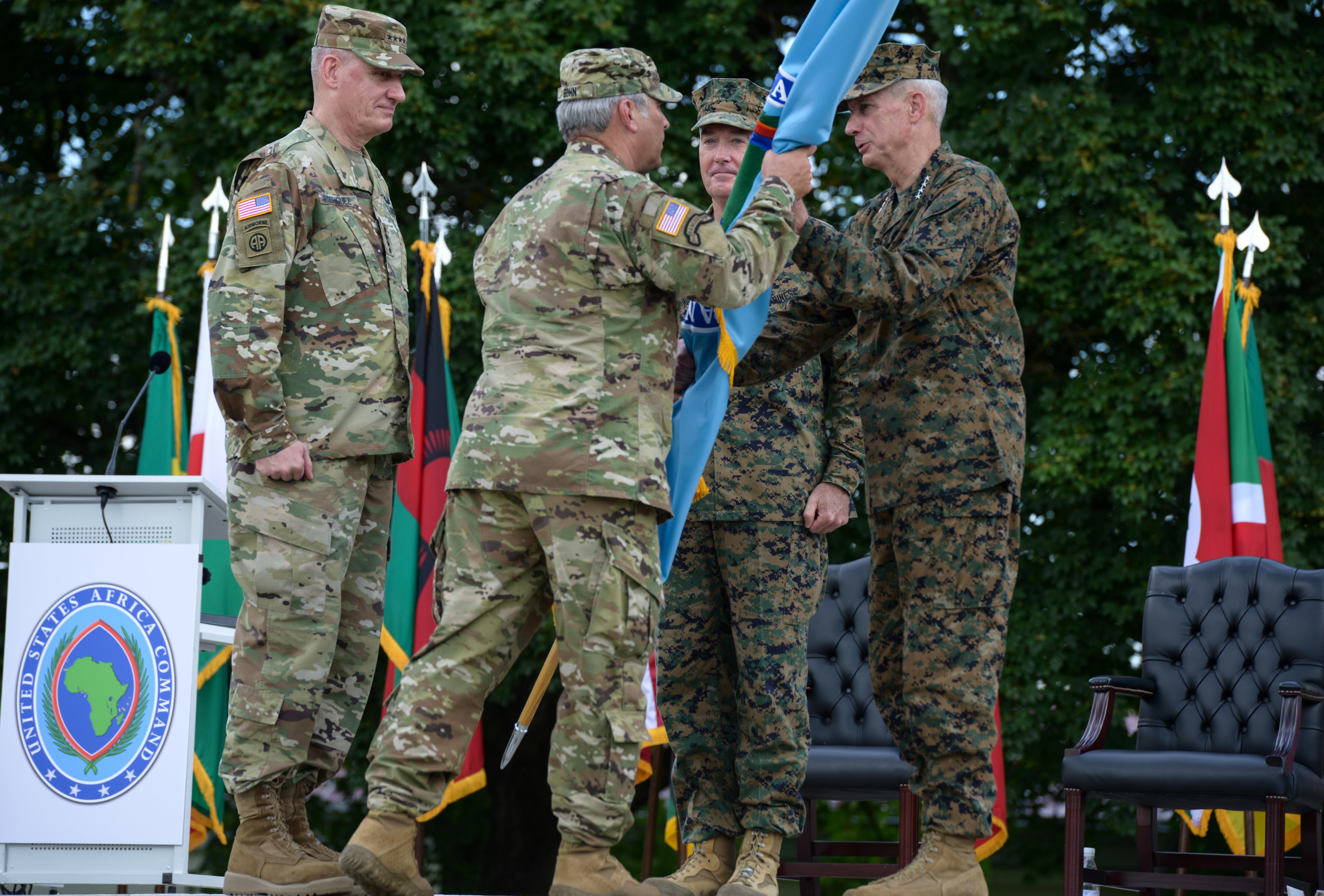 United States Africa Command - Us army garrison stuttgart map