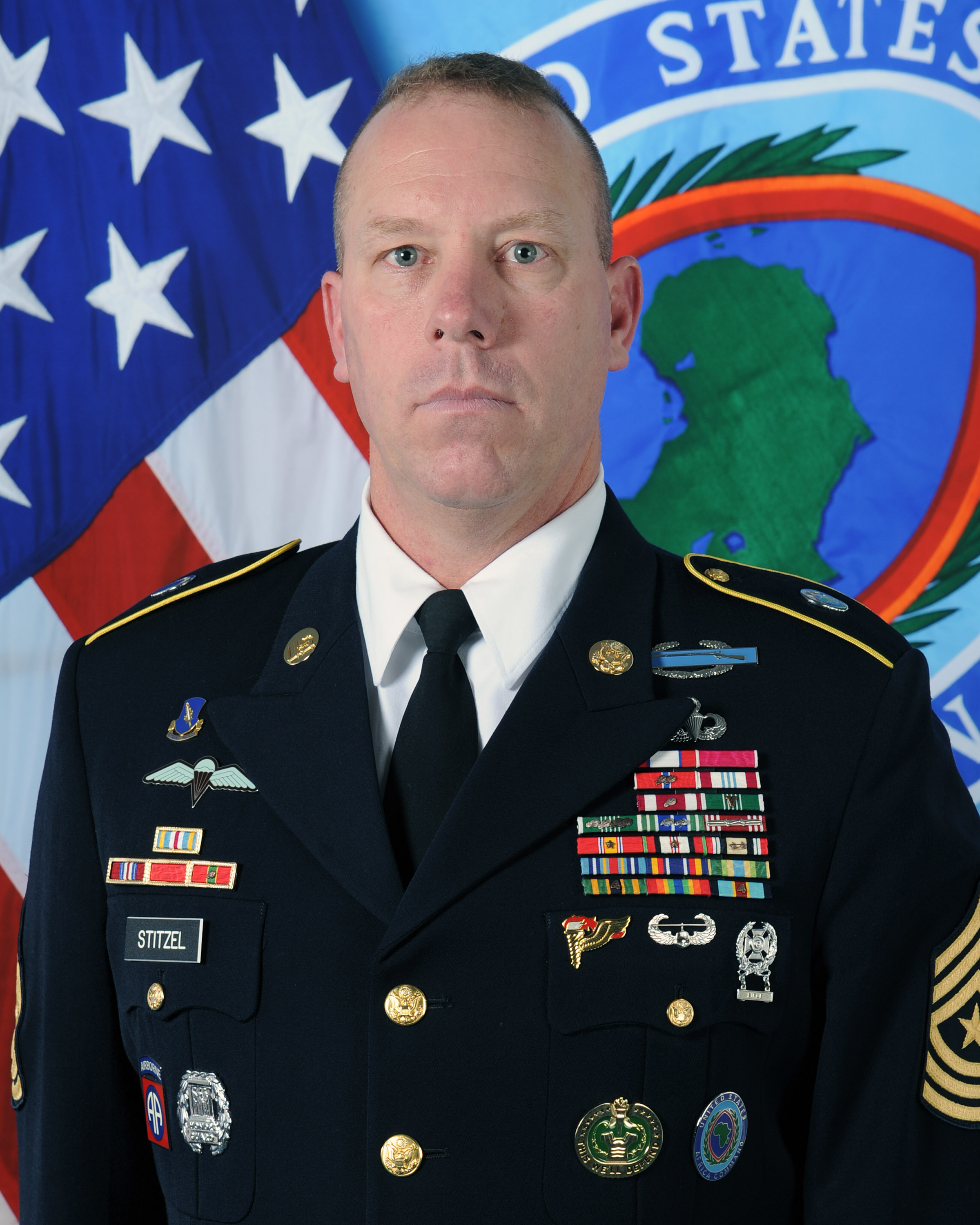Sergeant Major Jeffery T. Stitzel is the Acting Command Senior Enlisted Leader.
