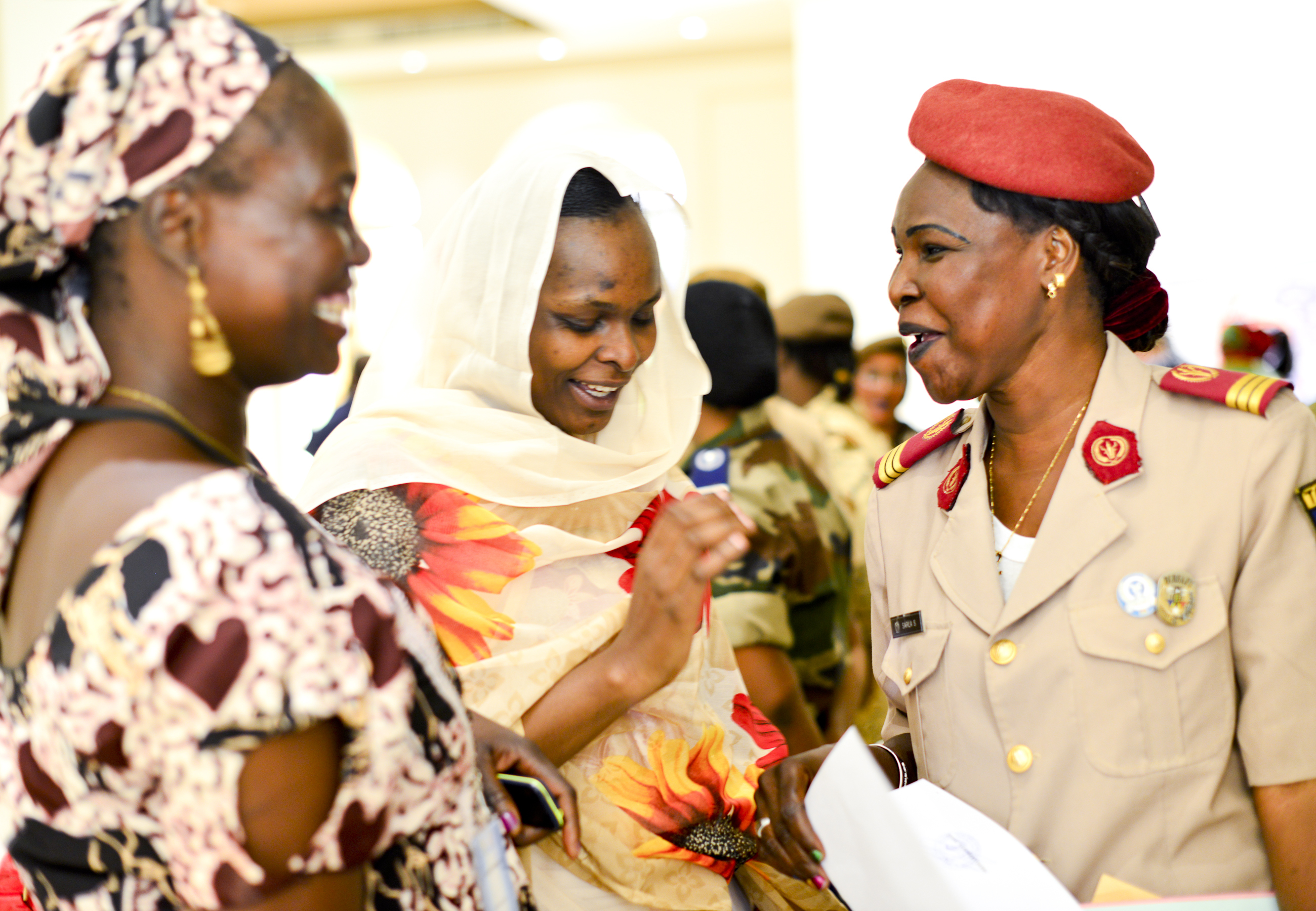 Special Operations Command Africa hosted its first Women's Leadership Forum on the eve of International Women's Day in N'Djamena, Chad, Mar. 7, 2017, as a part of Exercise Flintlock 2017.  This leadership discussion forum was led by Chadian women from across the spectrum of employment to address Chadian challenges and opportunities, and was facilitated by the U.S. Embassy and Spirit of America. Flintlock is an annual special operations exercise involving more than 20 nation forces that strengthens security institutions, promotes multinational sharing of information, and develops interoperability among partner nation in North and West Africa. (Photo by Richard Bumgardner/Released)
