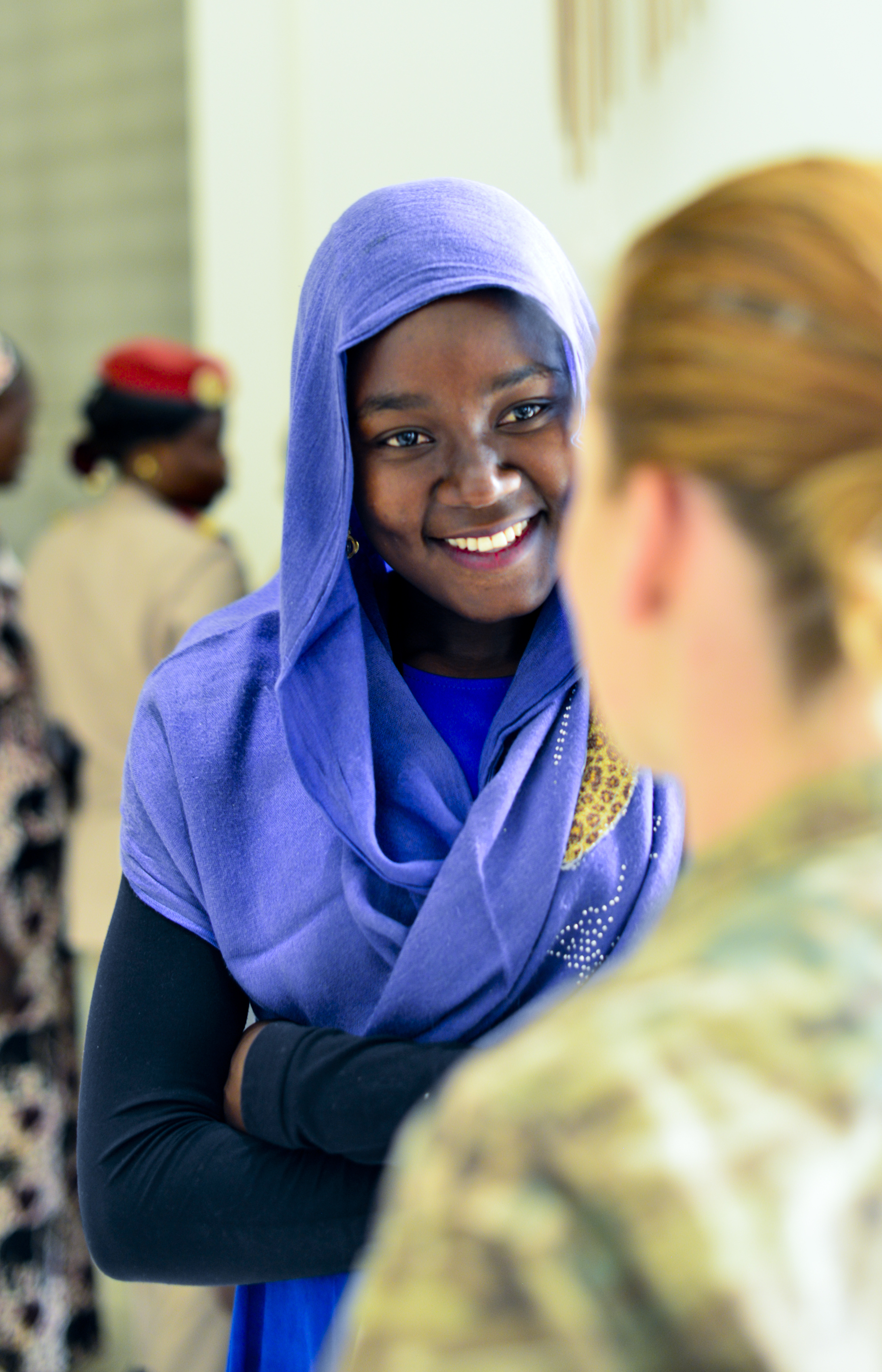 Special Operations Command Africa hosted its first Women's Leadership Forum during International Women's Day in N'Djamena, Chad, Mar. 7, 2017, as a part of Exercise Flintlock.  This leadership discussion forum was led by Chadian women from across the spectrum of employment to address Chadian challenges and opportunities, and was facilitated by the U.S. Embassy and Spirit of America. Flintlock is an annual special operations exercise involving more than 20 nation forces that strengthens security institutions, promotes multinational sharing of information, and develops interoperability among partner nation in North and West Africa. (Photo by Richard Bumgardner/Released)