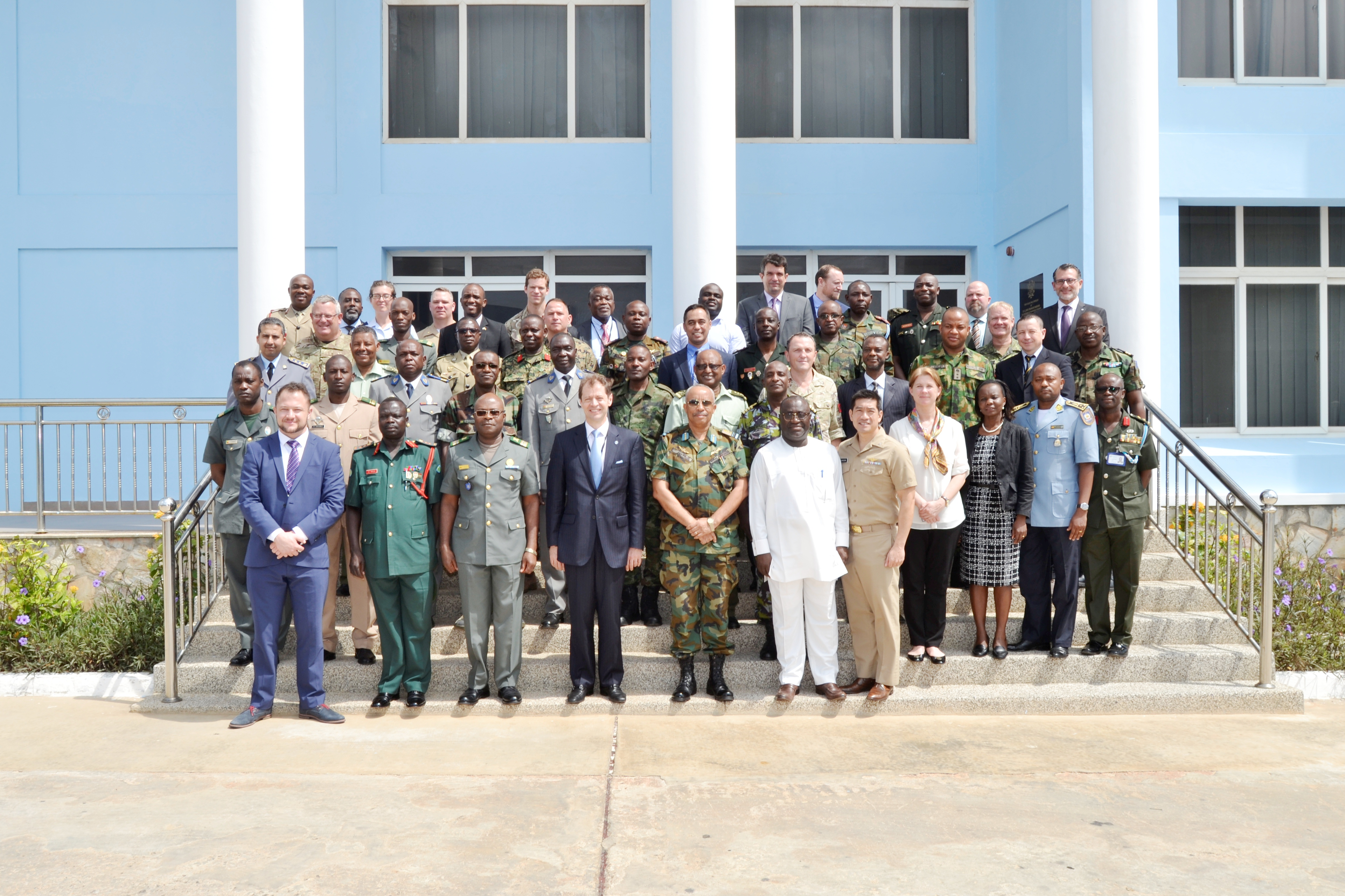 "The Kofi Annan International Peacekeeping Training Center in Accra, Ghana hosted the first UN Military Unit Manuals Regional Seminar, with support from the US Africa Command March 8-10, 2017.  The seminar shared the methodology for the eleven UN peacekeeping field manuals with all major African troop contributing countries for their awareness and implementation at their respective peacekeeping training centers.  Partnering with the UN Dept. of Peacekeeping Operations and African academic centers of excellence such as the KAIPTC greatly enables AFRICOM to advance AFRICOM Theater Campaign Plan efforts to ""Build African peacekeeping capacity""."