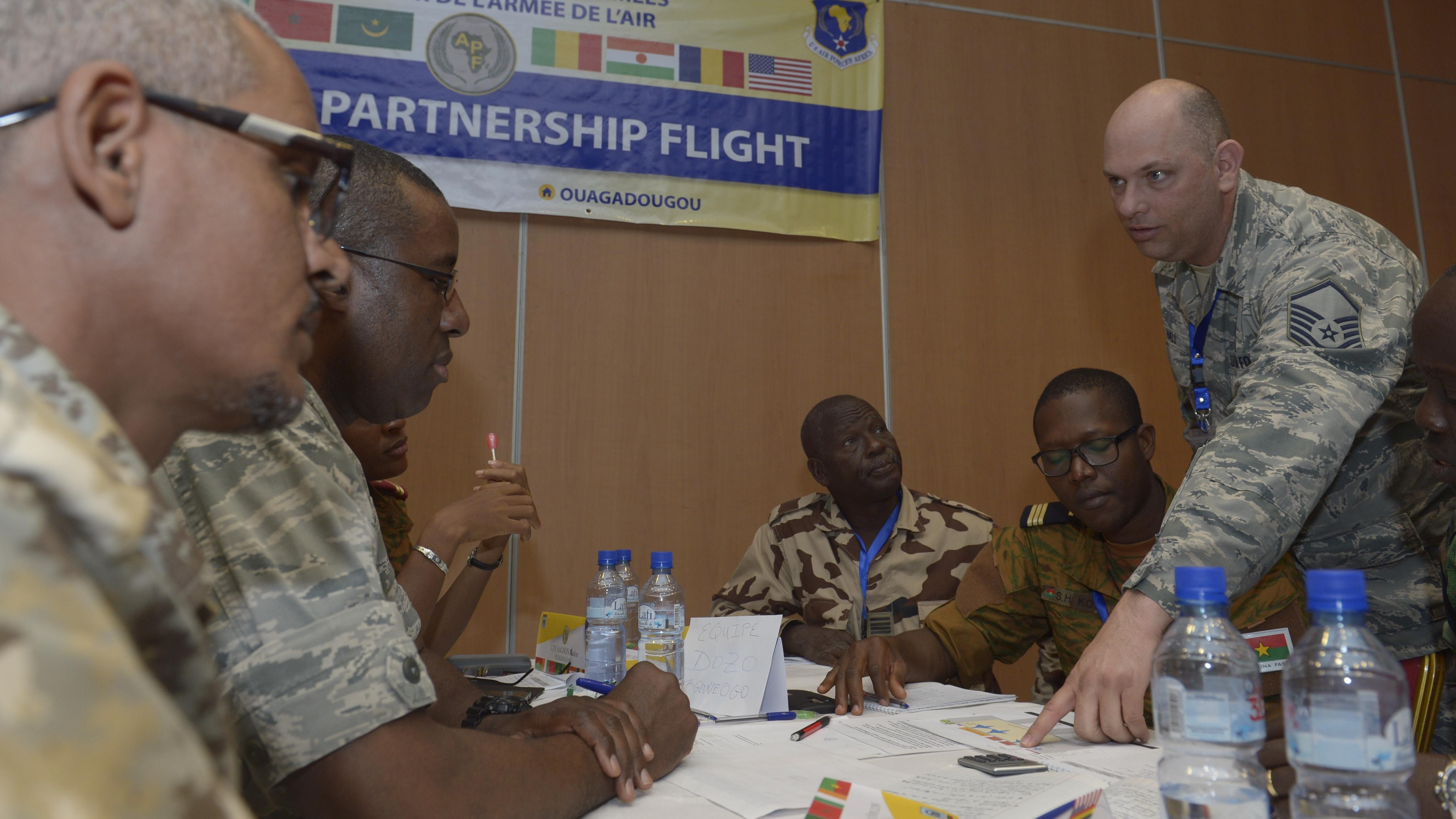 US & African partner nations conclude HADR workshop in Burkina Faso