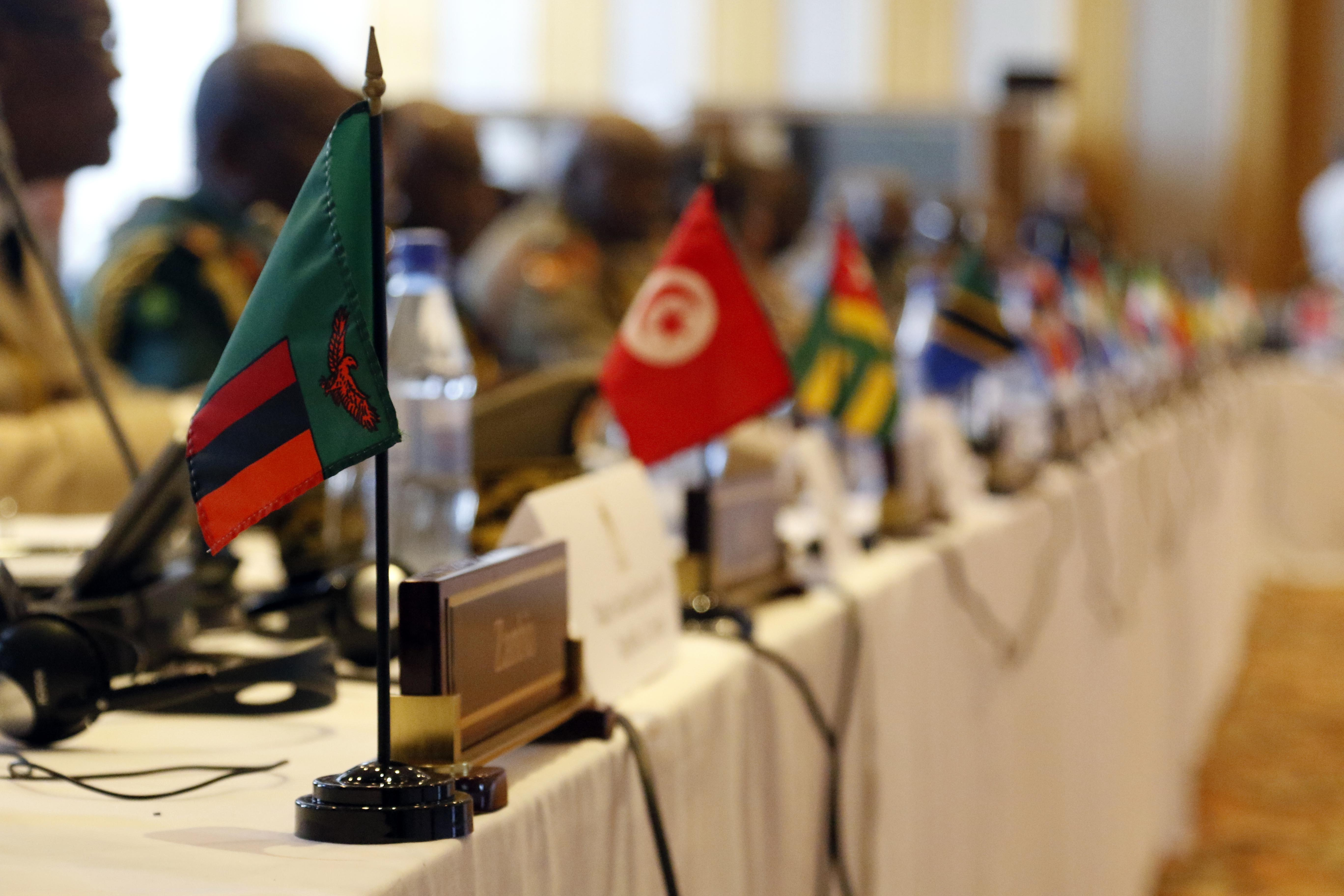 More than 40 nations from across the globe gather during the African Land Forces Summit at the Umodzi Business Park, Lilongwe, Malawi, May 8, 2017. ALFS is an annual, weeklong seminar bringing together land force chiefs from across Africa for candid dialog to discuss and develop cooperative solutions to regional and trans-regional challenges and threats.