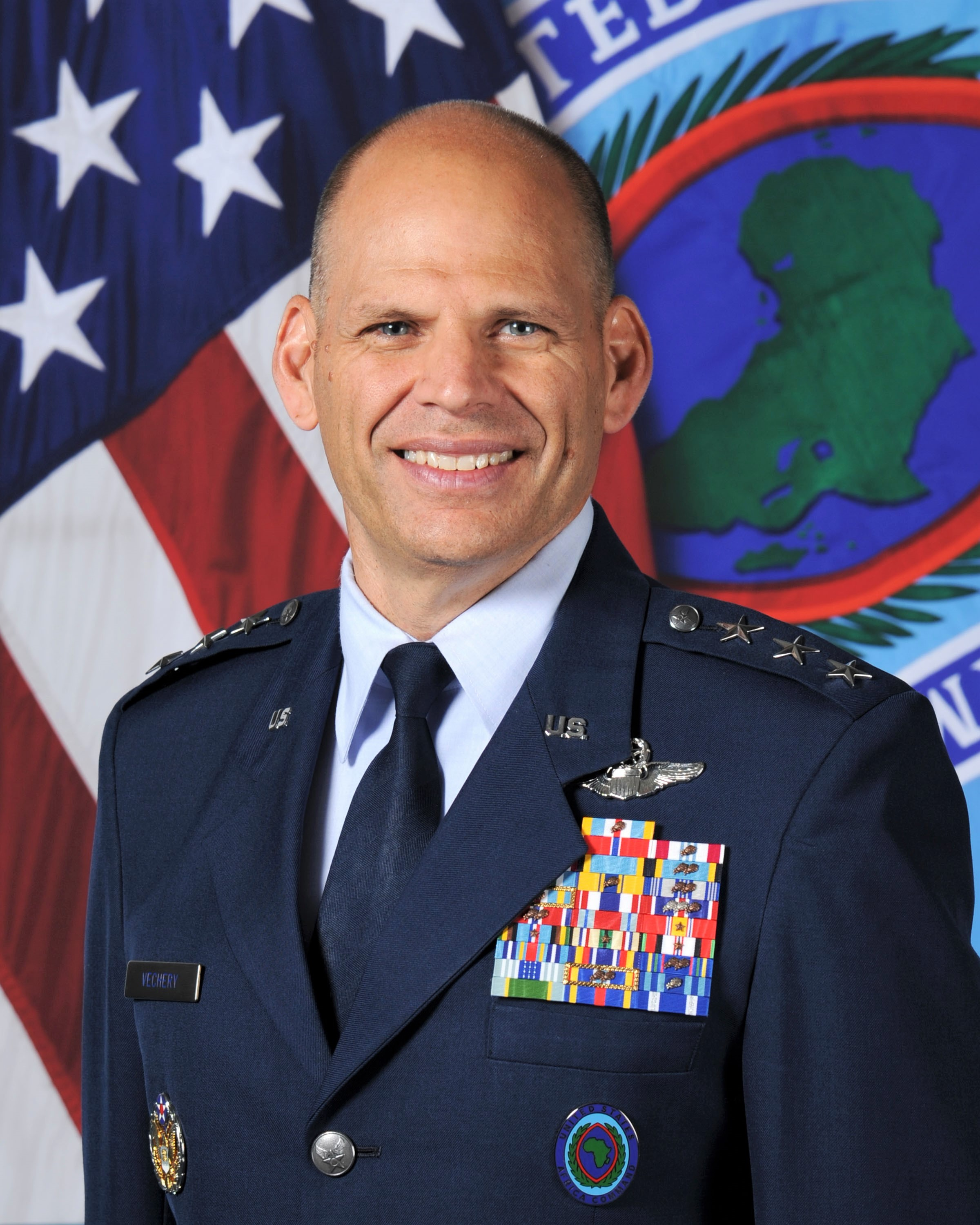 Lt. Gen James C. Vechery, AFRICOM DCMO