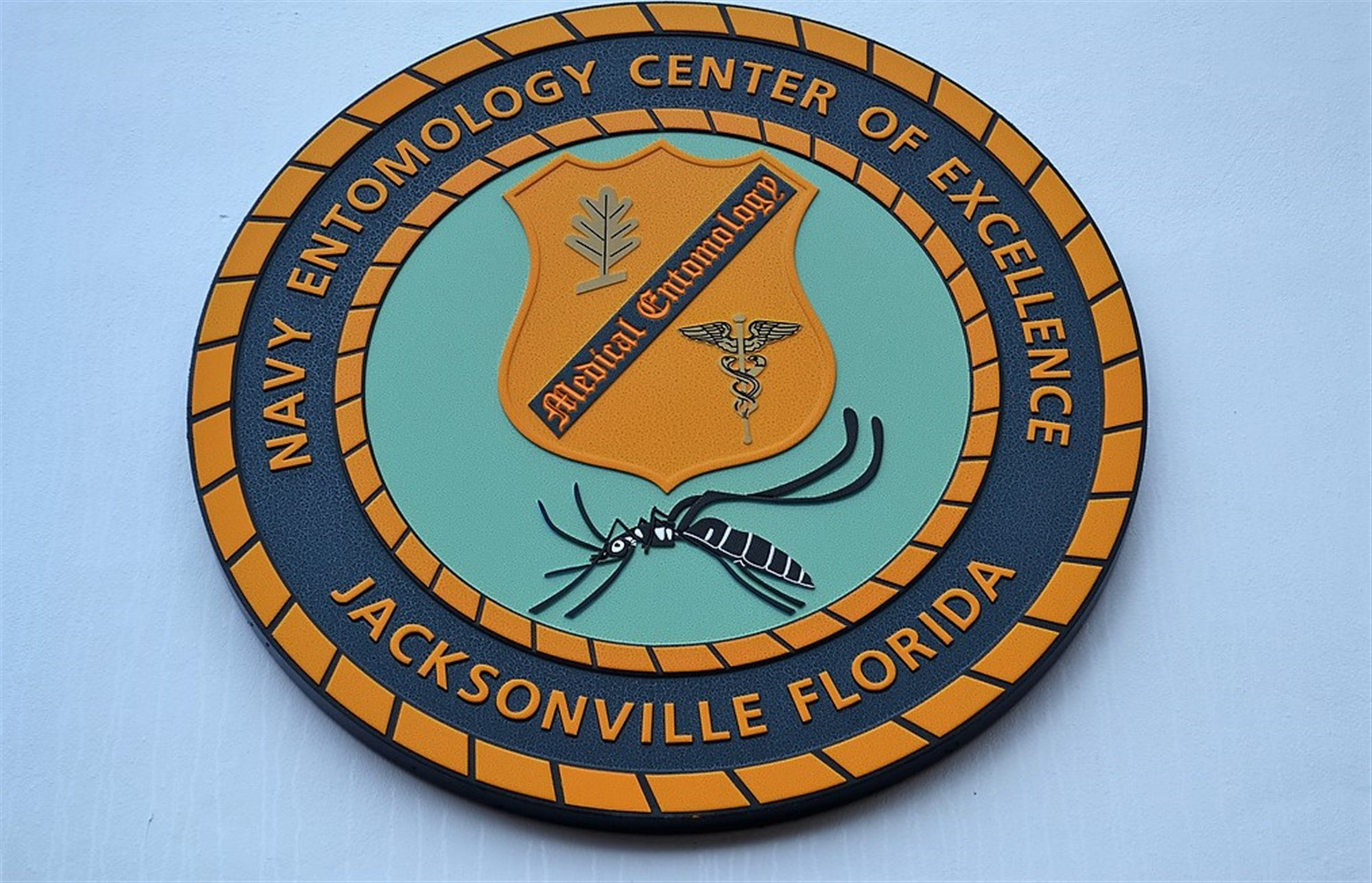 Seal of the U.S. Navy Entomology Center of Excellence