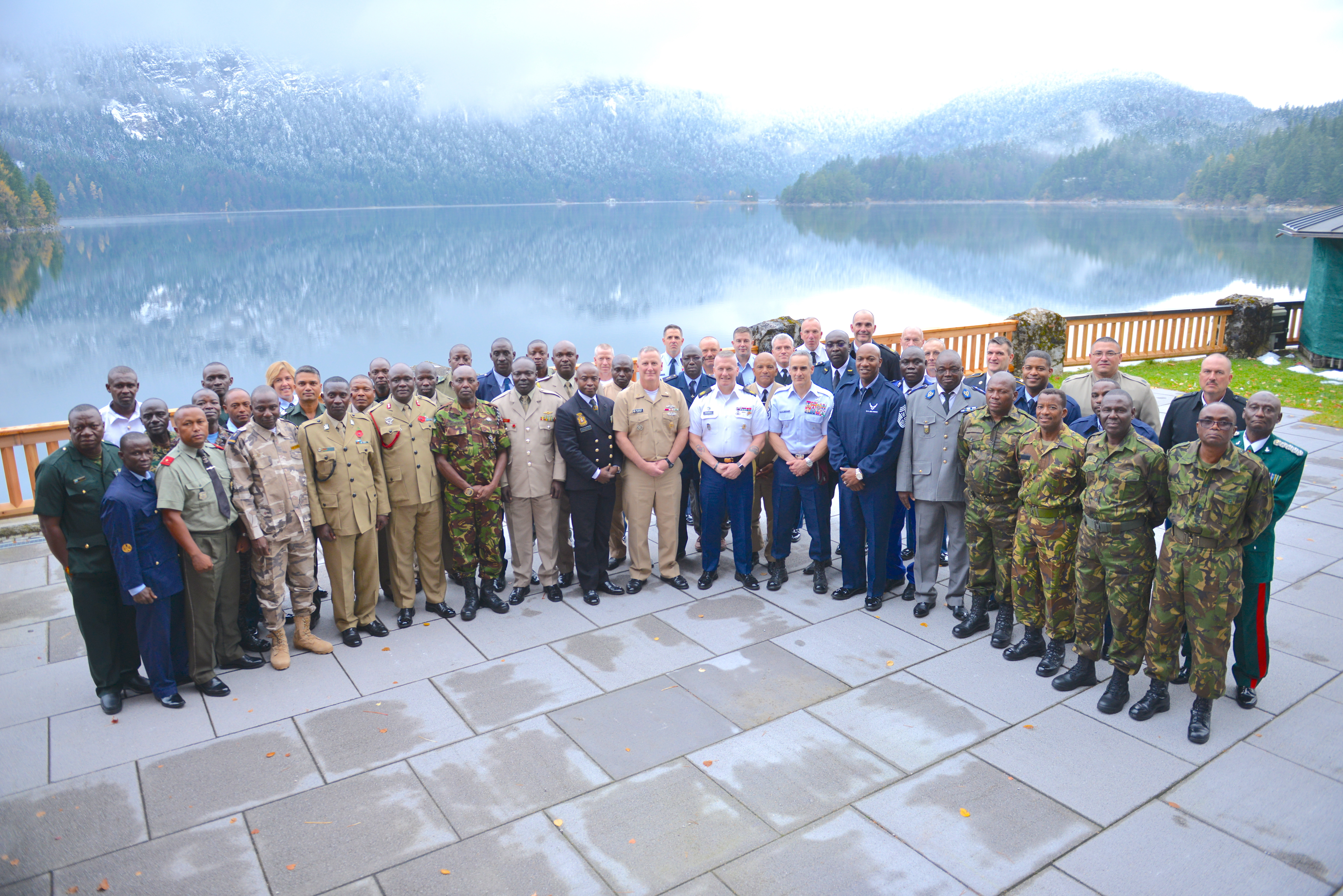 GRAINAU, Germany - Senior Enlisted Leaders from more than 20 African nations and the U.S. met during the first ever Africa Senior Enlisted Leader Conference in Grainau, Germany Nov. 6-10, 2017. The purpose of the conference was to discuss shared challenges and opportunities.