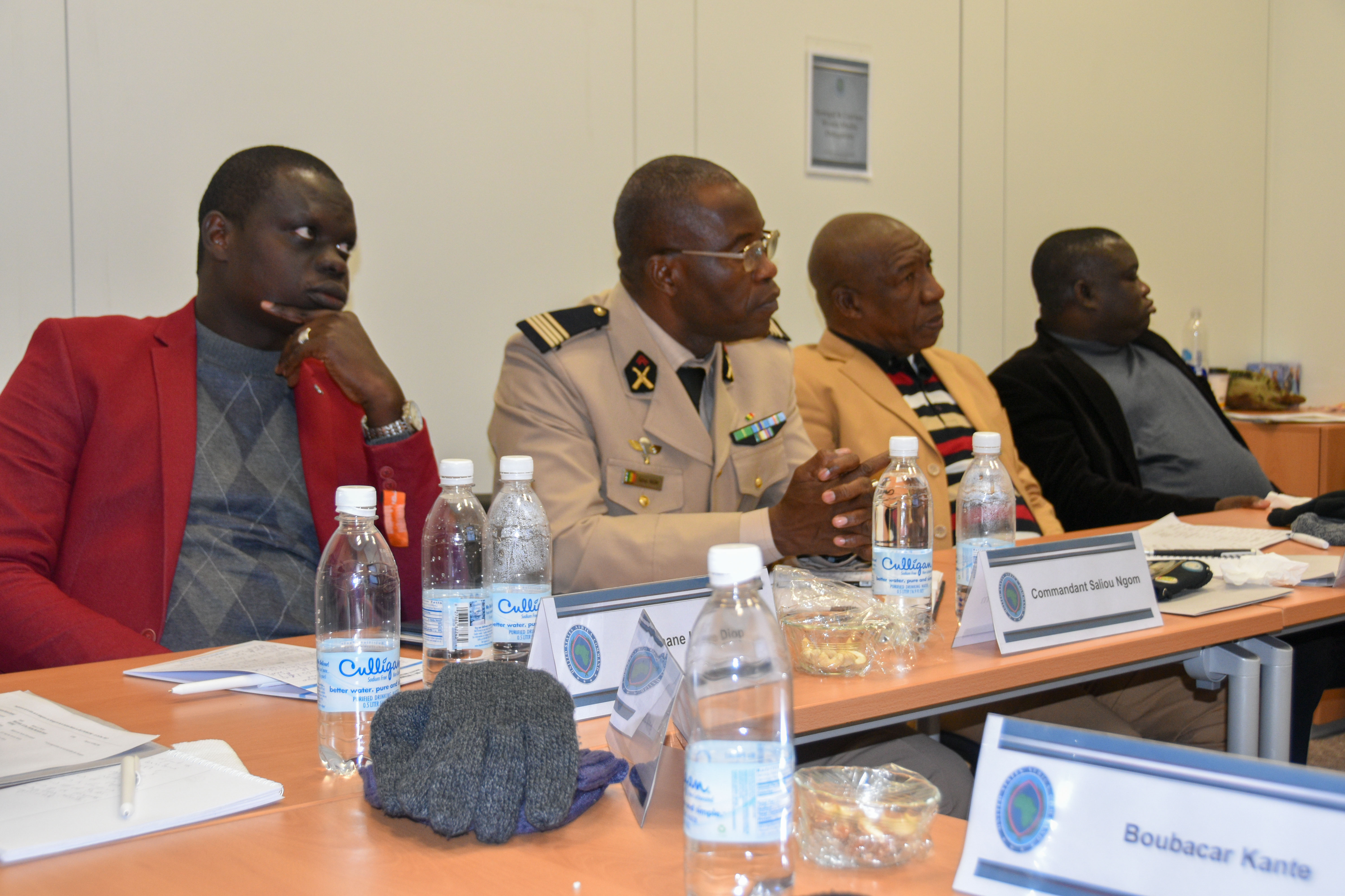 Journalists from various news organizations in Senegal and Guinea Bissau visited U.S. Africa Command, Stuttgart, Germany, Dec. 11-14, 2017. AFRICOM staff provided briefs throughout the week which culminated in an interview of Lt. Gen. James C. Vechery, Deputy to the Commander for Military Operations, U.S. Africa Command.