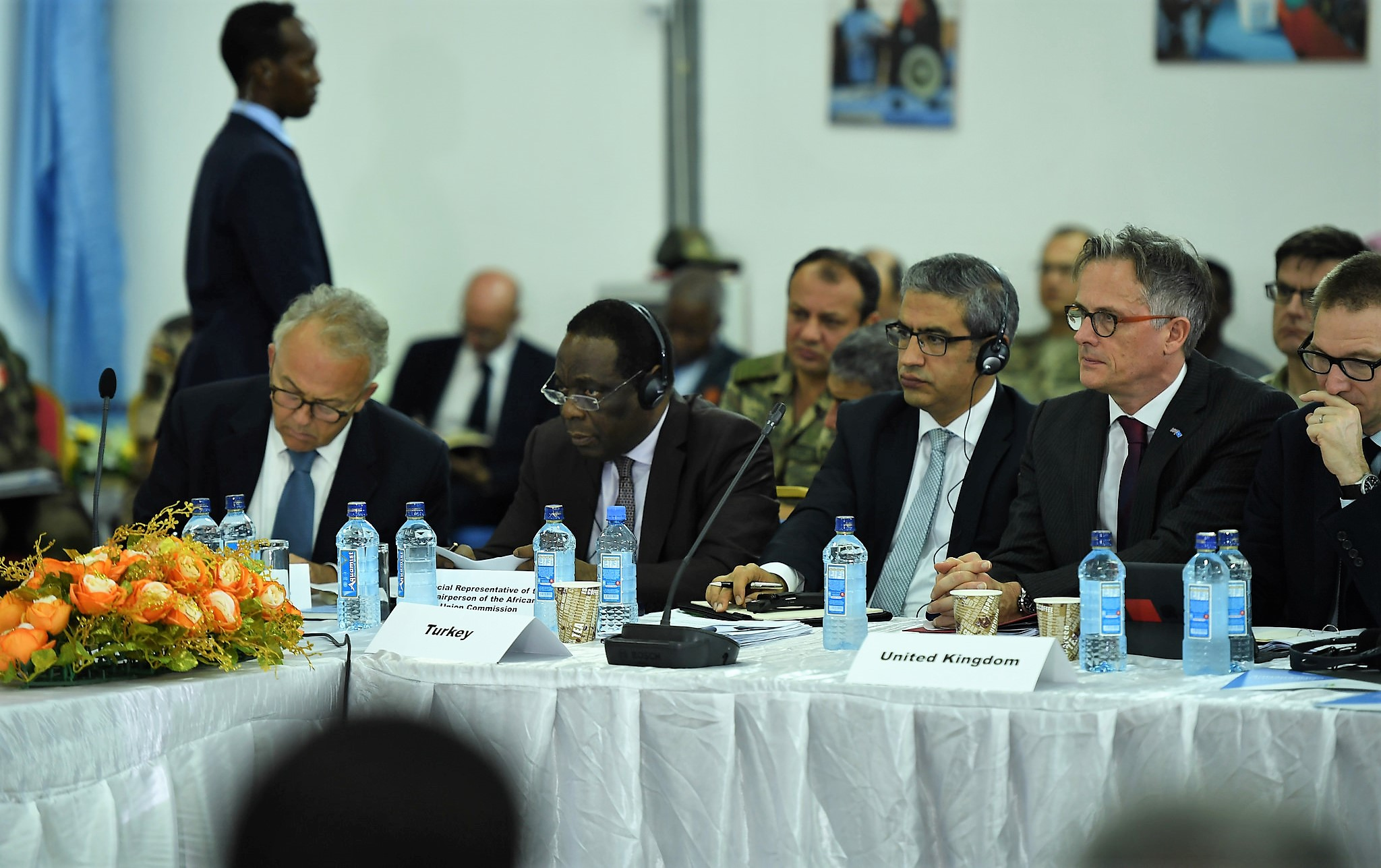 Representatives of the international community at the Somalia Security Conference held in Mogadishu on December 4, 2017. (UN Photo by Omar Abdisalan)