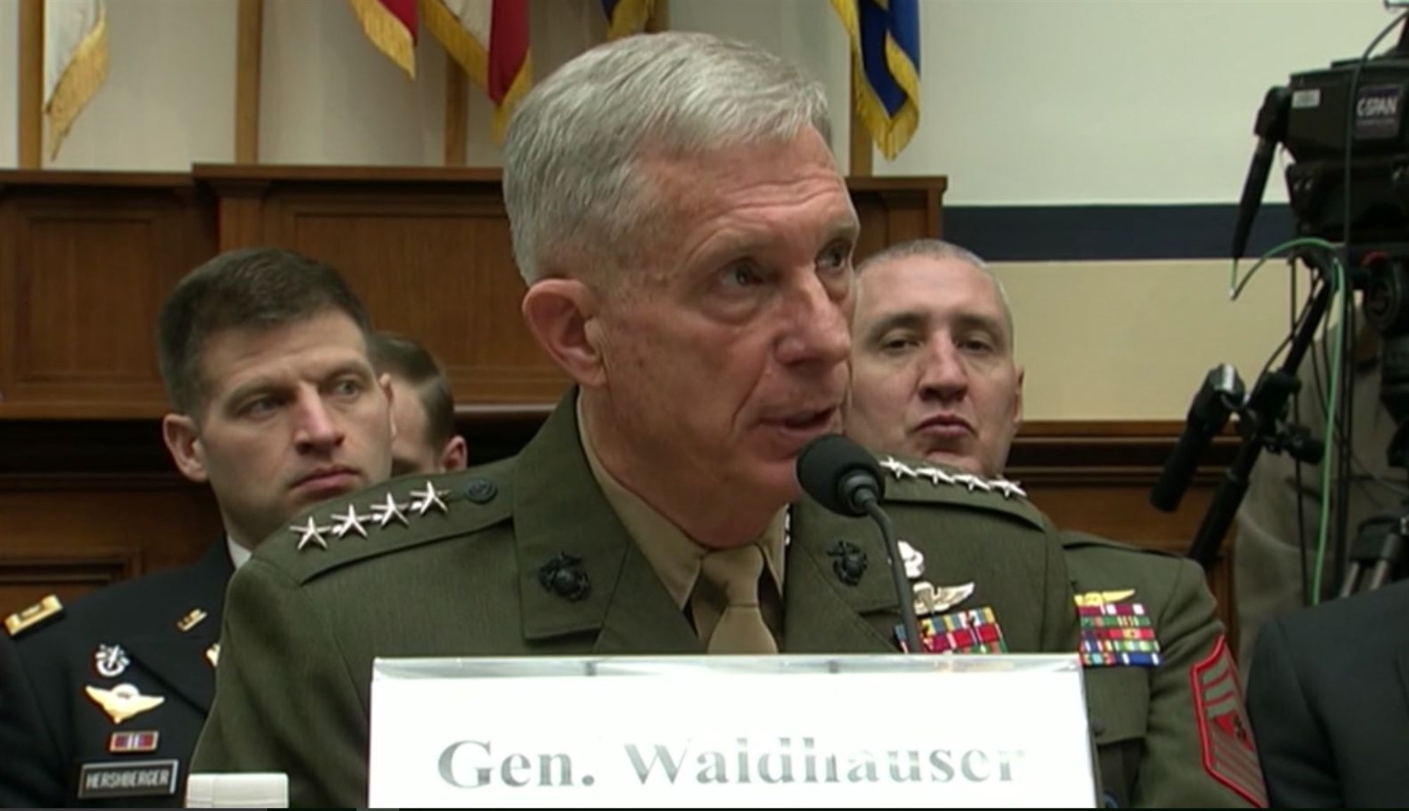 Gen. Thomas D. Waldhauser, Commander, U.S. Africa Command, appears before the House Armed Services Committee to deliver the 2018 U.S. Africa Command Posture Statement, March 6, 2018, Washington, D.C.