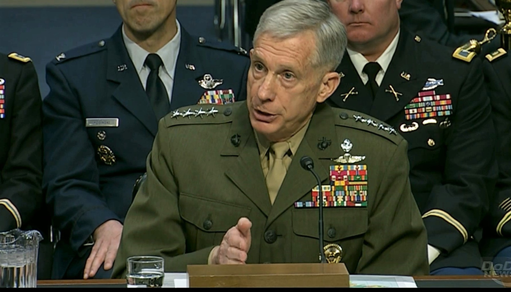 Gen. Thomas D. Waldhauser, Commander, U.S. Africa Command, appears before the Senate Armed Services Committee to deliver the 2018 U.S. Africa Command Posture Statement, March 13, 2018, Washington, D.C.