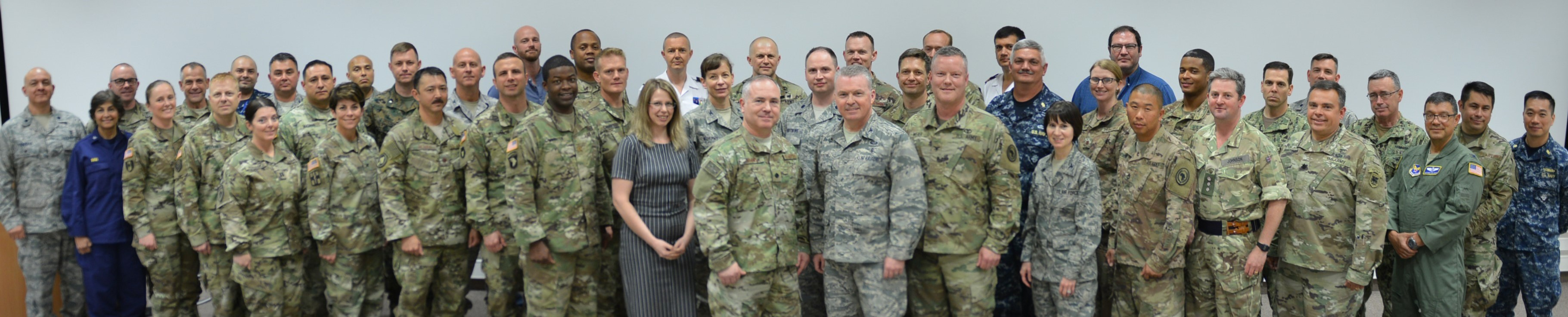 STUTTGART, Germany – U.S. Africa Command hosted an annual Command Surgeon Synchronization Conference, May 22-24, 2018, at the Kelly Special Events Center. Led by the AFRICOM Command surgeon's office  the purpose was to bring medical professionals from across the command, and interagency and foreign partners, to discuss challenges and concerns within the medical enterprise in Africa. (Photo by Army Staff Sgt. Grady Jones, U.S. Africa Command Public Affairs)