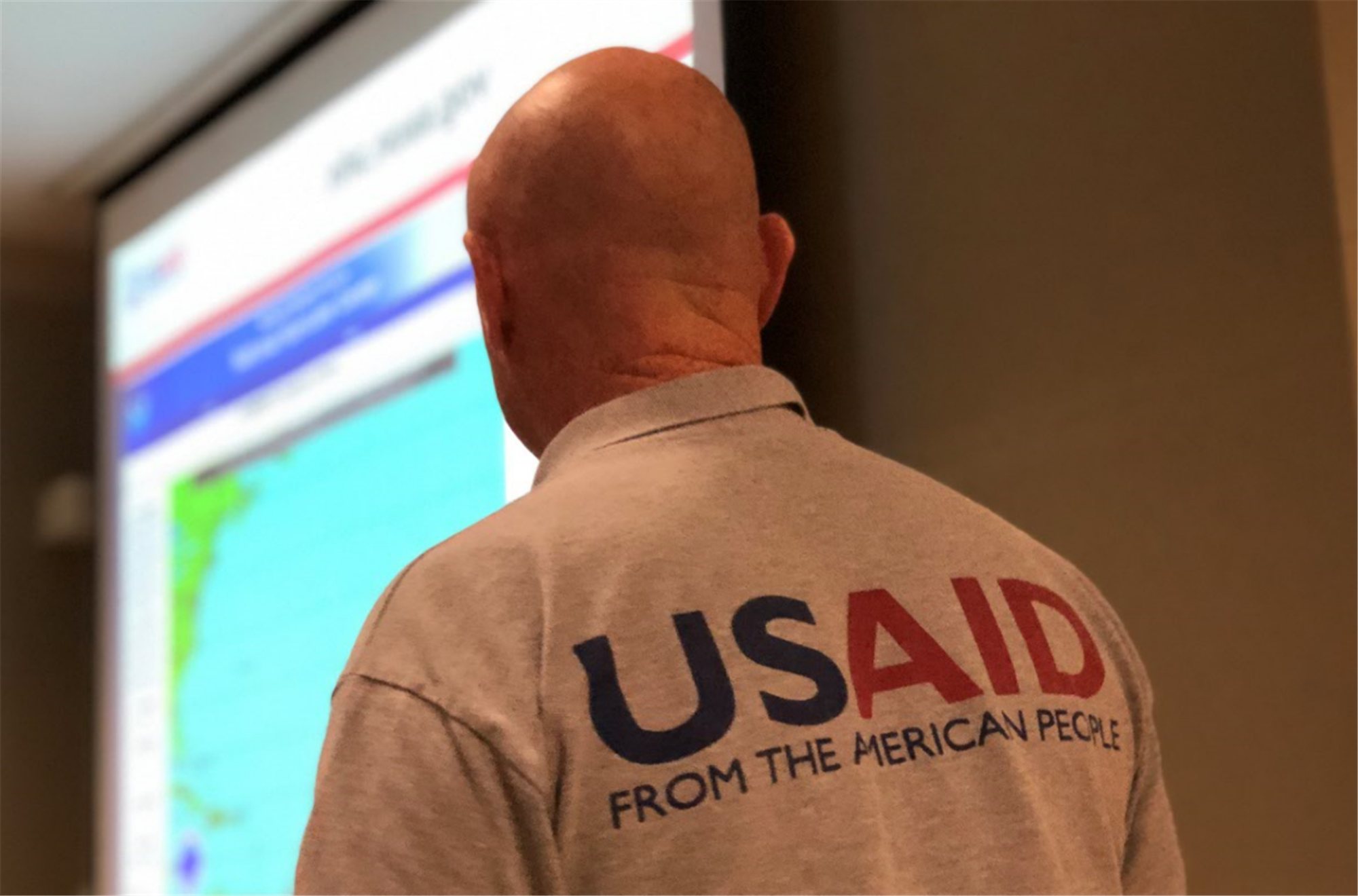 USAID instructor conducts the Joint Humanitarian Operations Course for U.S. Army Africa Command staff, Sep., 12-13, 2018, Vicenza, Italy. (Photo Courtesy of U.S. Army Africa Public Affairs)