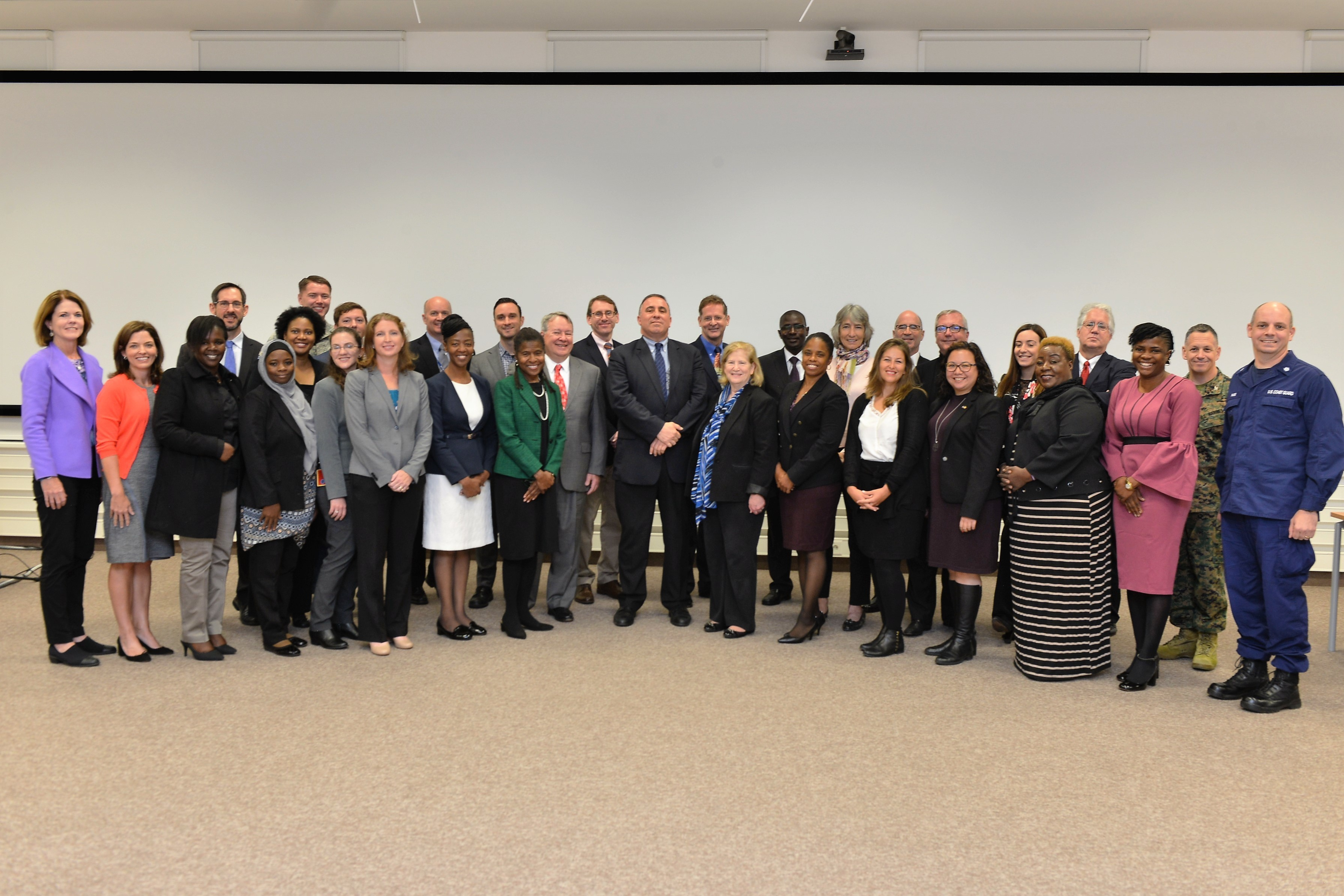 STUTTGART, Germany— U.S. Department of Justice & U.S. Africa Command (USAFRICOM) hosted the first DOJ Africa Symposium, Oct. 29 to Nov. 2, 2018 at the Kelly Special Events Center, U.S. Army Garrison Stuttgart. 