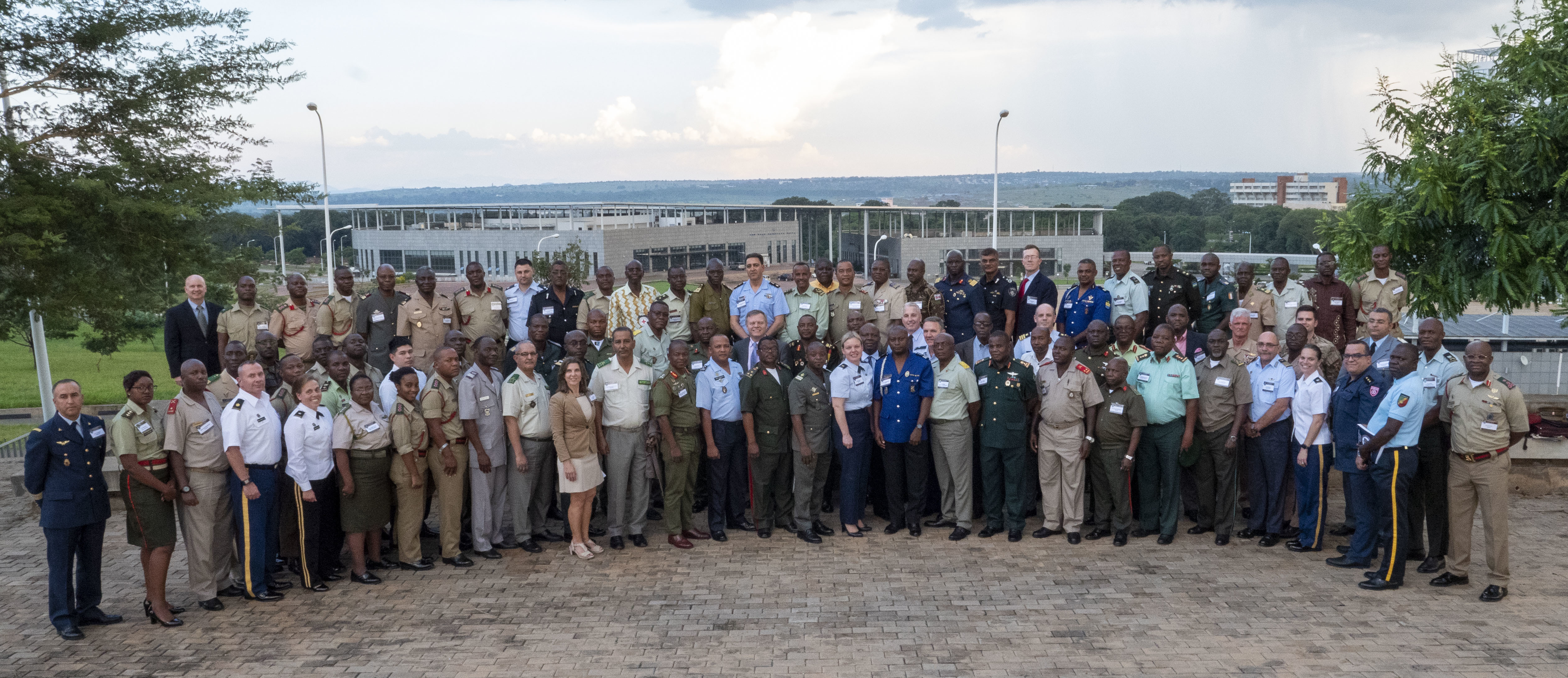 A group photo of the delegates to Accountability Colloquium VI in Lilongwe, Malawi, February 27, 2019.