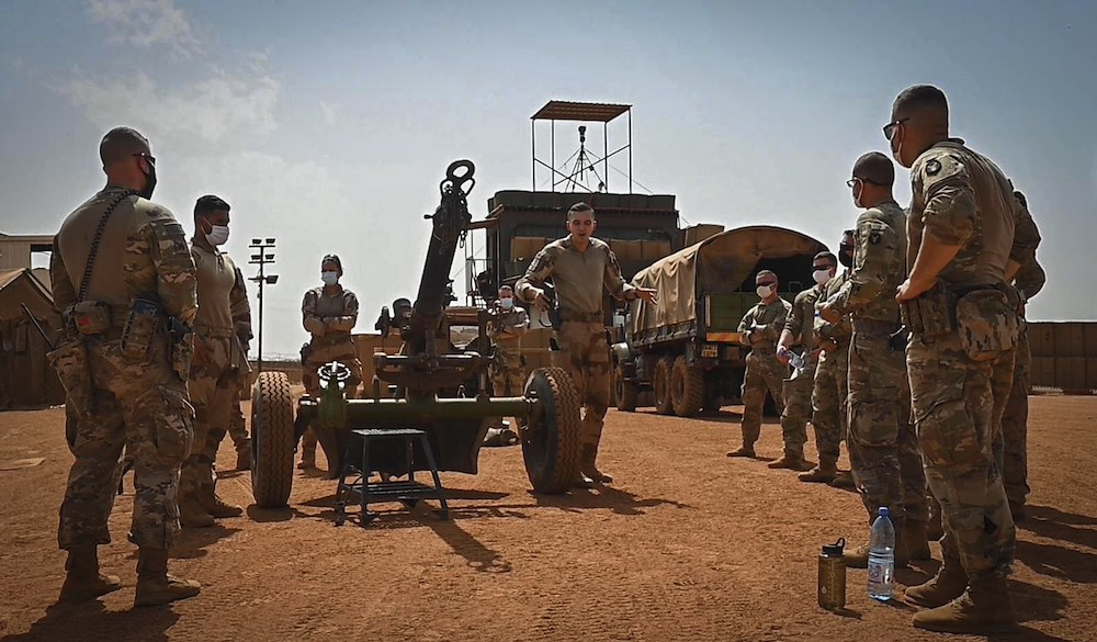 US Military News • U.S. Africa Command Forces in Mali Africa • March 3, 2021